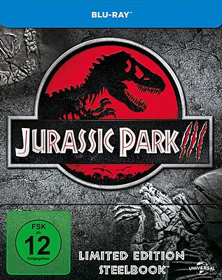 Einfach und sicher online bestellen: Jurassic Park 3 Limited Edition Steelbook in Österreich kaufen.