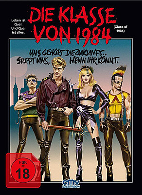 Einfach und sicher online bestellen: Die Klasse von 1984 Limited Mediabook Edition in Österreich kaufen.