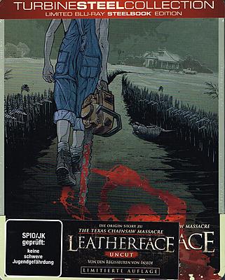 Einfach und sicher online bestellen: Leatherface Limited Steelbook Edition in Österreich kaufen.