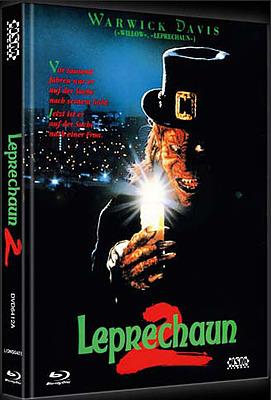 Einfach und sicher online bestellen: Leprechaun 2 Limited 444 Mediabook Cover A in Österreich kaufen.