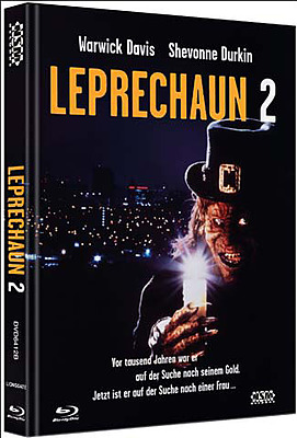 Einfach und sicher online bestellen: Leprechaun 2 Limited 444 Mediabook Cover B in Österreich kaufen.
