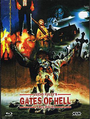 Einfach und sicher online bestellen: Lucio Fulcis Gates of Hell Trilogie Mediabook A in Österreich kaufen.