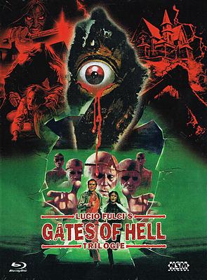 Einfach und sicher online bestellen: Lucio Fulcis Gates of Hell Trilogie Mediabook C in Österreich kaufen.