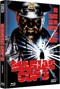 Einfach und sicher online bestellen: Maniac Cop 3 Limited Edition Mediabook Cover A in Österreich kaufen.