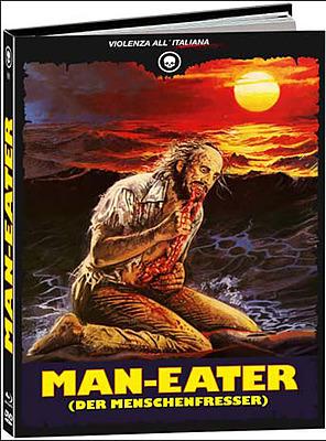 Einfach und sicher online bestellen: Man-Eater Limited 1000 Mediabook Cover A in Österreich kaufen.