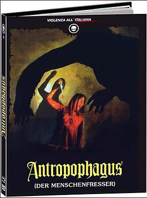 Einfach und sicher online bestellen: Antropophagus Limited 500 Edition Mediabook B in Österreich kaufen.