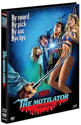 Einfach und sicher online bestellen: The Mutilator Limited Edition Mediabook Cover A in Österreich kaufen.