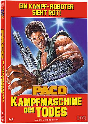 Einfach und sicher online bestellen: Paco - Kampfmaschine des Todes Mediabook Cover A in Österreich kaufen.