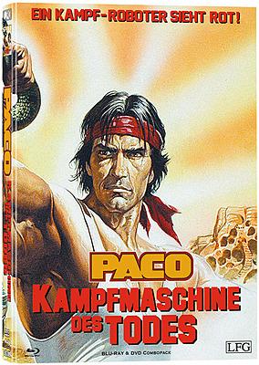 Einfach und sicher online bestellen: Paco - Kampfmaschine des Todes Mediabook Cover C in Österreich kaufen.