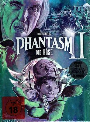 Einfach und sicher online bestellen: Phantasm II - Das Böse II Mediabook Cover A in Österreich kaufen.