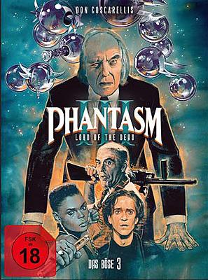 Einfach und sicher online bestellen: Phantasm III - Das Böse III Mediabook Cover A in Österreich kaufen.