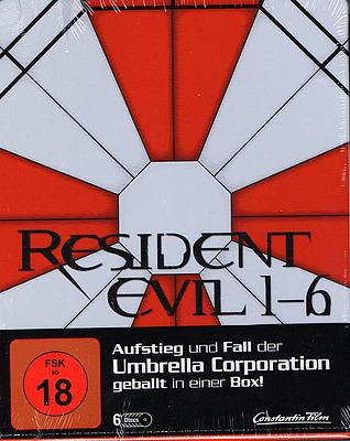 Einfach und sicher online bestellen: Resident Evil 1-6 Limited Steelbok Edition in Österreich kaufen.