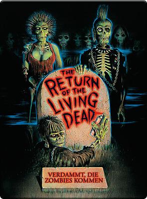 Einfach und sicher online bestellen: Return of the Living Dead Steelbook in Österreich kaufen.