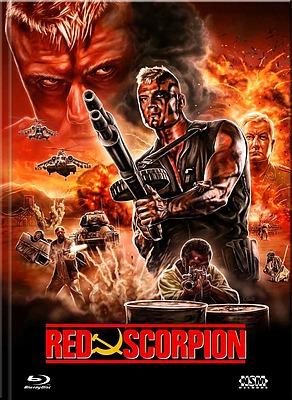 Einfach und sicher online bestellen: Red Scorpion Limited 444 Mediabook Cover A in Österreich kaufen.