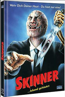 Einfach und sicher online bestellen: Skinner - Lebend gehäutet Limited 666 Mediabook A in Österreich kaufen.