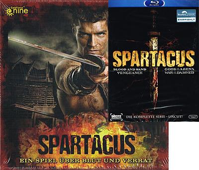 Einfach und sicher online bestellen: Spartacus The Complete Collection Bundle (AT) in Österreich kaufen.