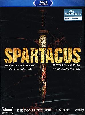 Einfach und sicher online bestellen: Spartacus - Die komplette Serie Uncut in Österreich kaufen.