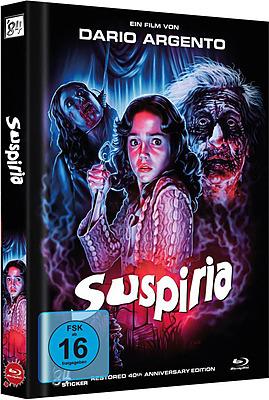 Einfach und sicher online bestellen: Suspiria 40th Anniversary Edition Mediabook in Österreich kaufen.