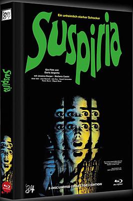Einfach und sicher online bestellen: Suspiria Limited 500 Edition Mediabook Cover C in Österreich kaufen.