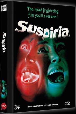 Einfach und sicher online bestellen: Suspiria Limited 333 Edition Mediabook Cover D in Österreich kaufen.