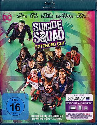 Einfach und sicher online bestellen: Suicide Squad inkl. Extended Cut in Österreich kaufen.