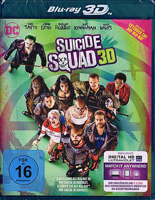 Einfach und sicher online bestellen: Suicide Squad inkl. Extended Cut 3D in Österreich kaufen.