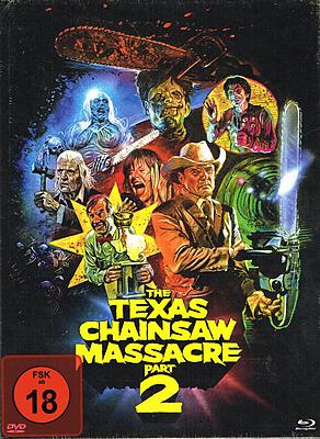 Einfach und sicher online bestellen: Texas Chainsaw Massacre 2 Limited 1000 Mediabook in Österreich kaufen.