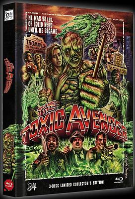 Einfach und sicher online bestellen: The Toxic Avenger Limited 999 Edition Mediabook in Österreich kaufen.