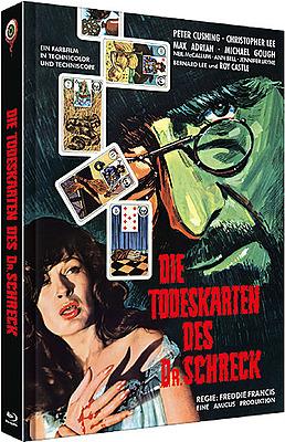 Einfach und sicher online bestellen: Todeskarten des Dr. Schreck Mediabook Cover A in Österreich kaufen.