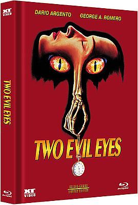 Einfach und sicher online bestellen: Two Evil Eyes Cover A Mediabook (DVD + Blu-ray) in Österreich kaufen.