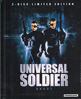 Einfach und sicher online bestellen: Universal Soldier Limited 1000 Edition Mediabook in Österreich kaufen.