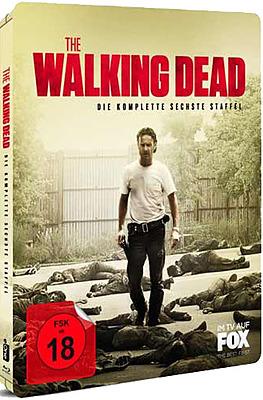 Einfach und sicher online bestellen: The Walking Dead - Komplette 6. Staffel Steelbook in Österreich kaufen.