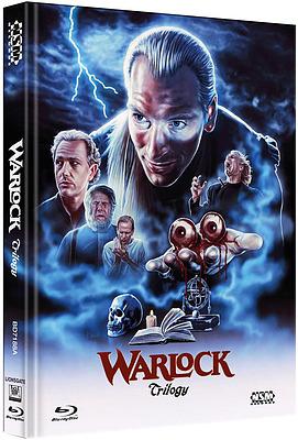 Einfach und sicher online bestellen: Warlock Trilogy Limited 250 Mediabook Cover A in Österreich kaufen.