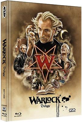 Einfach und sicher online bestellen: Warlock Trilogy Limited 250 Mediabook Cover B in Österreich kaufen.