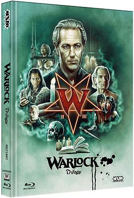Einfach und sicher online bestellen: Warlock Trilogy Limited 250 Mediabook Cover C in Österreich kaufen.