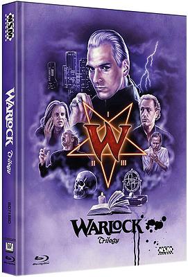 Einfach und sicher online bestellen: Warlock Trilogy Limited 250 Mediabook Cover D in Österreich kaufen.