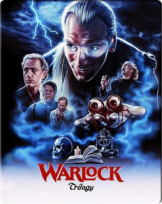 Einfach und sicher online bestellen: Warlock Trilogy SteelBook Limited Edition in Österreich kaufen.