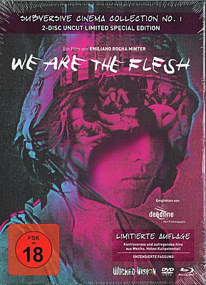 Einfach und sicher online bestellen: We Are The Flesh Limited Mediabook Cover A in Österreich kaufen.