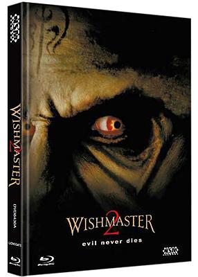 Einfach und sicher online bestellen: Wishmaster 2 Limited 750 Mediabook Cover A in Österreich kaufen.