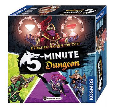 Einfach und sicher online bestellen: 5-Minuten Dungeon - 5 Helden gegen die Zeit in Österreich kaufen.