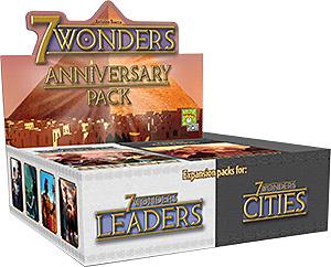 Einfach und sicher online bestellen: 7 Wonders Anniversary Pack Display in Österreich kaufen.
