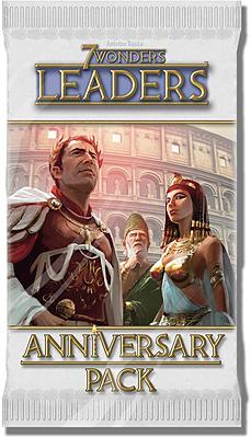 Einfach und sicher online bestellen: 7 Wonders Anniversary Pack Leaders Booster in Österreich kaufen.