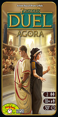 Einfach und sicher online bestellen: 7 Wonders Duel Agora in Österreich kaufen.