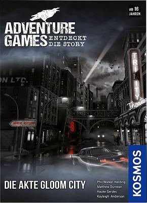 Einfach und sicher online bestellen: Adventure Games: Die Akte Gloom City in Österreich kaufen.