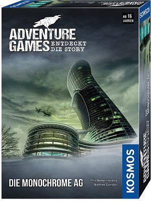 Einfach und sicher online bestellen: Adventure Games: Die Monochrome AG in Österreich kaufen.