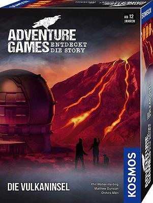 Einfach und sicher online bestellen: Adventure Games: Die Vulkaninsel in Österreich kaufen.