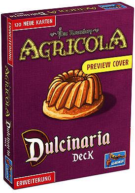 Einfach und sicher online bestellen: Agricola: Dulcinarius Deck in Österreich kaufen.
