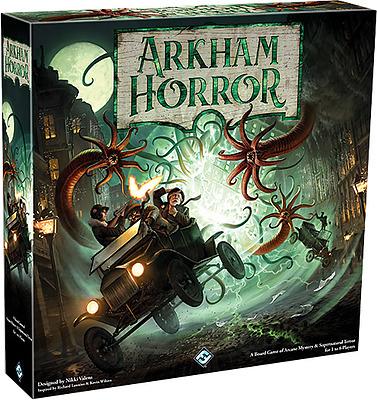 Einfach und sicher online bestellen: Arkham Horror 3 Edition in Österreich kaufen.