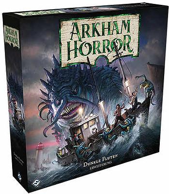 Einfach und sicher online bestellen: Arkham Horror 3 Ed. - Dunkle Fluten in Österreich kaufen.