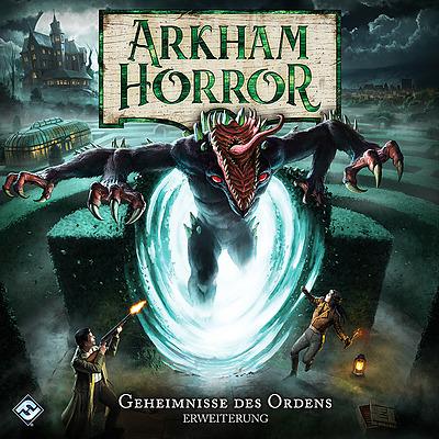 Einfach und sicher online bestellen: Arkham Horror 3 Ed. - Geheimnisse des Ordens in Österreich kaufen.